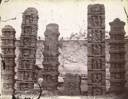Sculptured pillars from Baijnath. 1003449